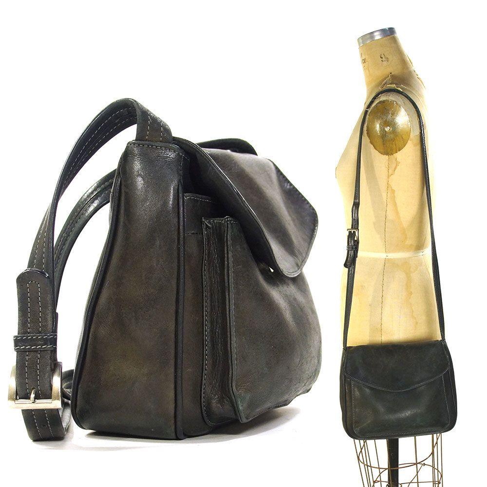858c050d3fed Leather Bag With Long Shoulder Strap - Madly Indian