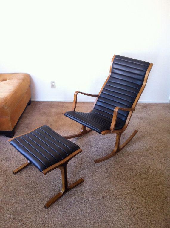 wrong color 4 us but cool rocker tendo mokko heron rocking chair
