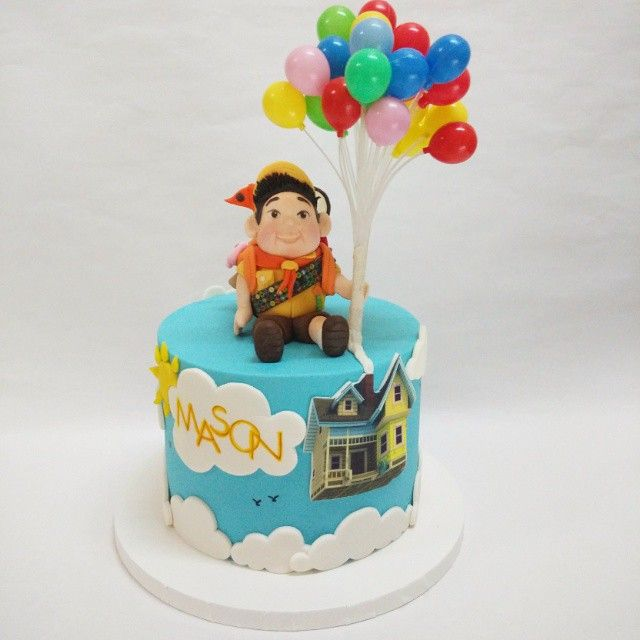 Awesome Instagram Media By Sugarmummy Disney Pixar Up Themed Cake With Birthday Cards Printable Benkemecafe Filternl
