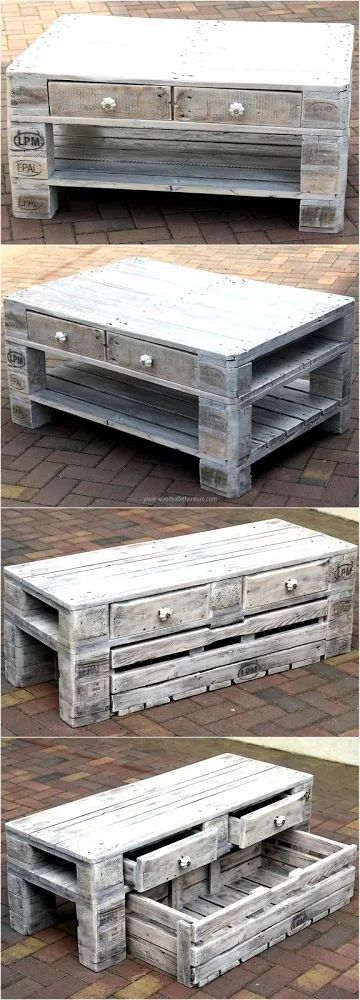 Creative Pallet Recycling Ideas By Lucieu0027s Palettenmöbel | Wood Table, Pallet  Wood And Pallets