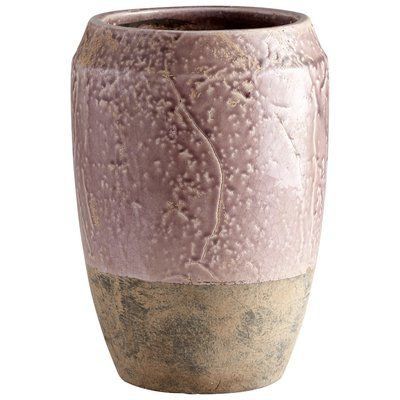 Cyan Design Ceramic Large Holden Planter - Purple Glaze