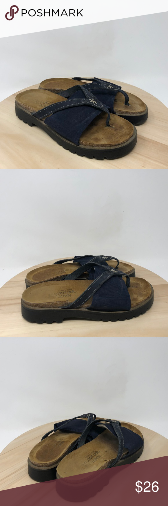 245afa9bb0457 Naot Orion Women s Size 37EUR 6 6.5US Thongs Y15 Naot Orion Israel Made  Women s