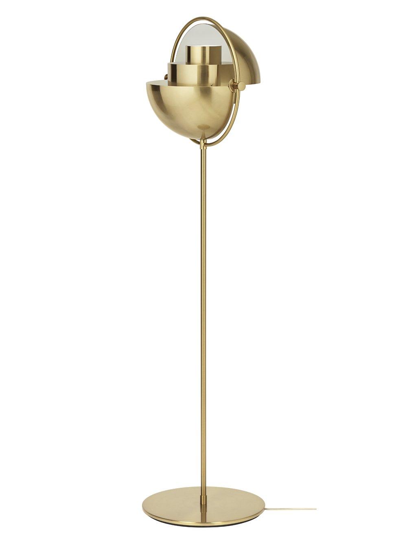 MultiLight Floor Lamp Brass Base Idées d'éclairage