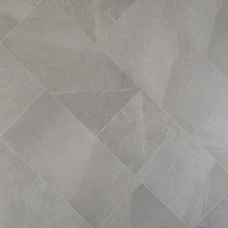 Fordham Grigio 12x24 Matte Porcelain Tile In 2020 Porcelain Flooring Flooring Grey Bathroom Tiles