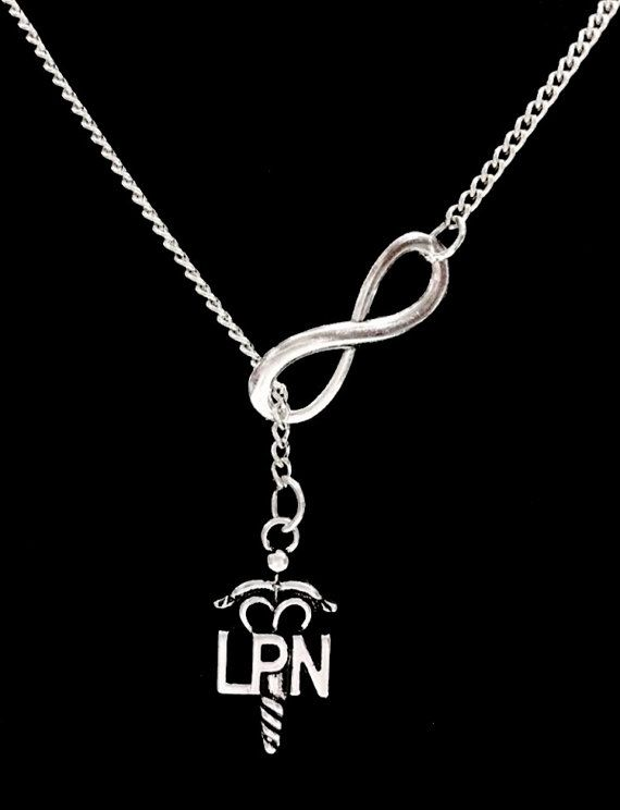 nfinity Nurse LPN Licensed Practical Nurse Gift Y Lariat Necklace Heavenly - Cute and Original Giftsfor Nurses - Pin for Later!