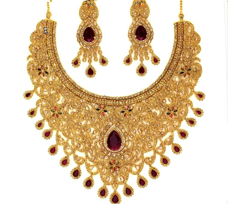 grt gold jewellery designs with price images indian