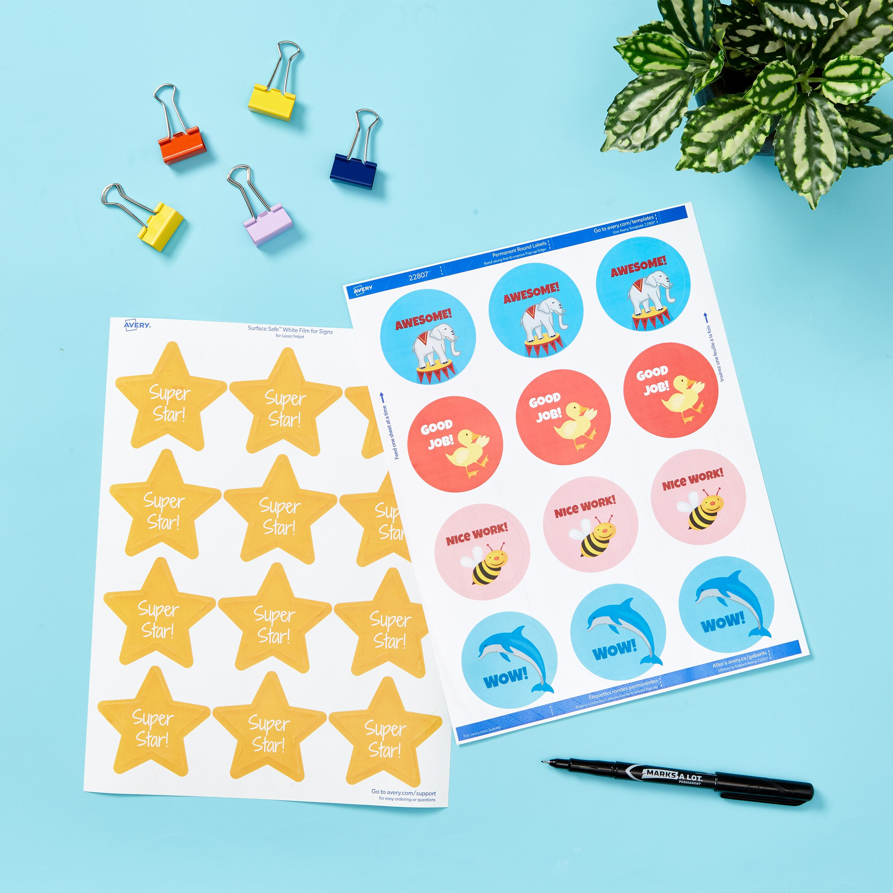 Custom Teacher Grading Stickers And Free Template Downloads In 2021 Templates Free Design Teacher Stickers Template Free