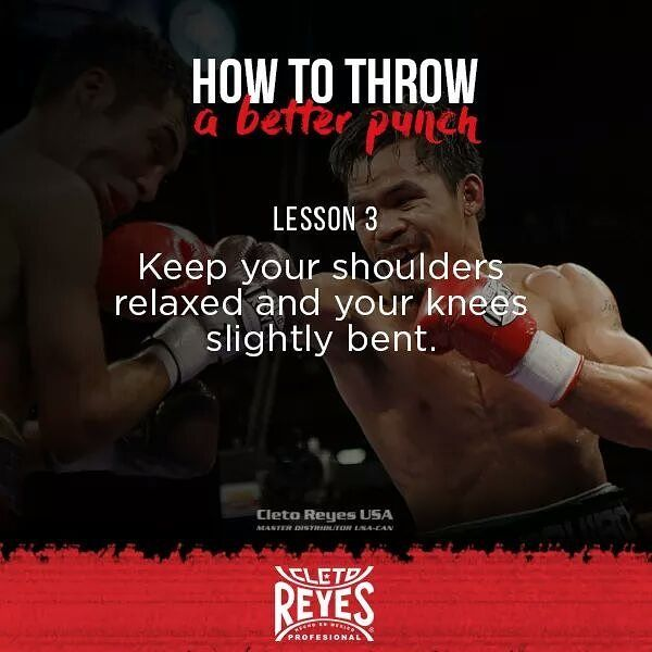 How To Throw A Better Punch Lesson 3 Cletoreyes Boxing Fight Sport Training Tip Fitness Body Exercise M Workout Plan Fitness Motivation Workout