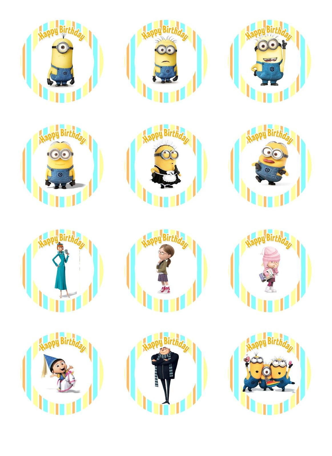It's just an image of Decisive Minion Template Pdf