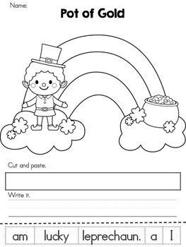 St Patrick S Day Kindergarten Worksheets Freebie St Patrick Day Activities St Patrick Kindergarten St patrick day worksheets kindergarten