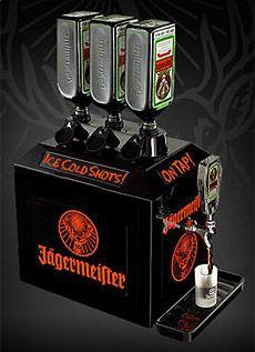 Jägermeister Tap Machine Jagermeister Man Cave Bar Booze Drink