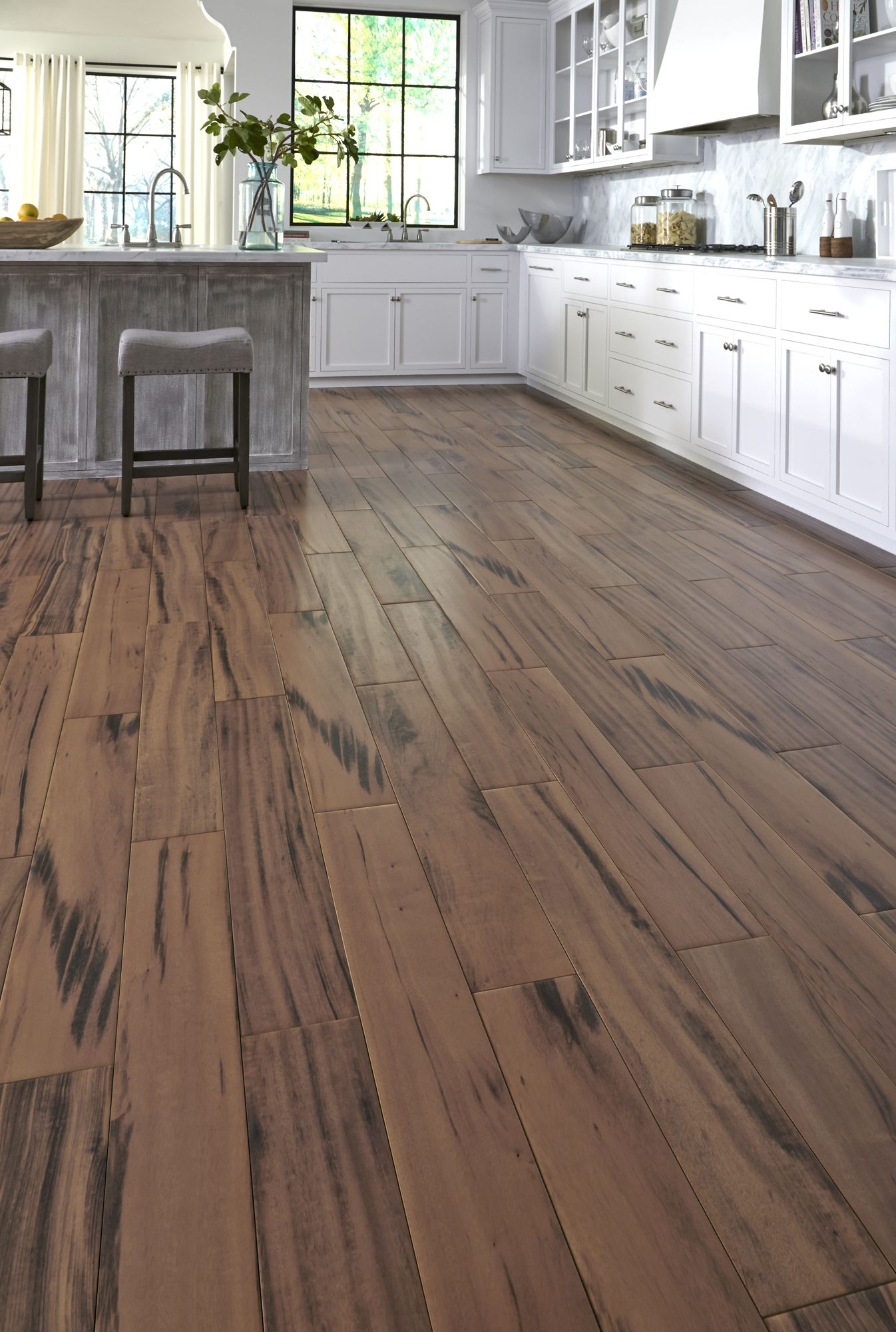 get the look of wood flooring with the application of tile waterproof avella brazilian koa is. Black Bedroom Furniture Sets. Home Design Ideas
