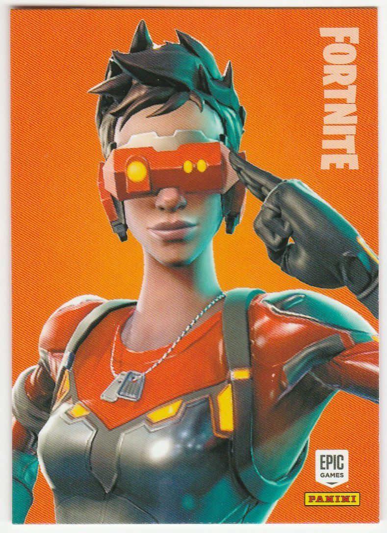 Cipher Rare Outfit 2019 Fortnite 163 Trading Cards Fortnite Epic Games