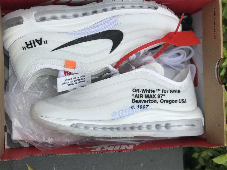nike air max 97 off white fake