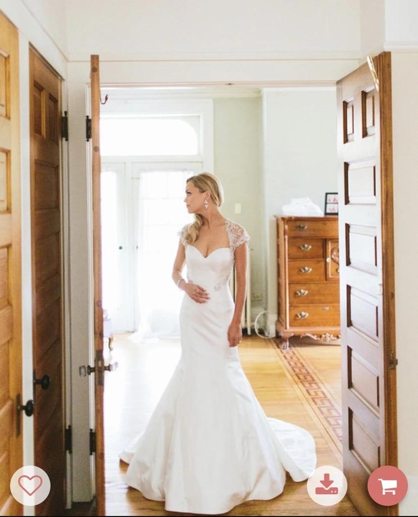 Rivini Avina Size 0 Used Wedding Dress Nearly Newlywed In 2020 Wedding Dresses Used Wedding Dresses