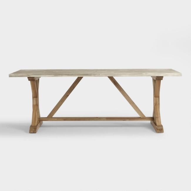 Trestle Dining Tables, Outdoor Trestle Table