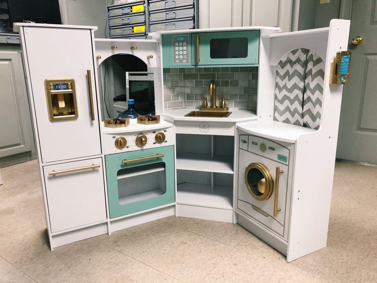 Kidkraft Ultimate Corner Kitchen Remodel Makeover Renovation In