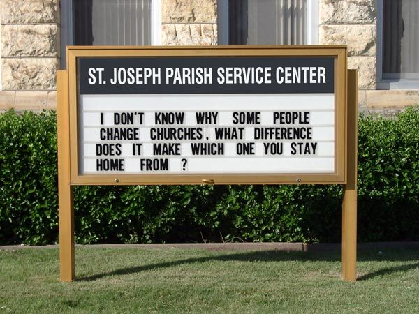 Funny Church Signs Are You Kidding Funny Signs Pinterest Simple Church Sign Quotes
