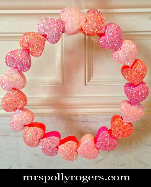 Click Here To Diy Dollar Tree Heart Box Valentine Wreath I Got