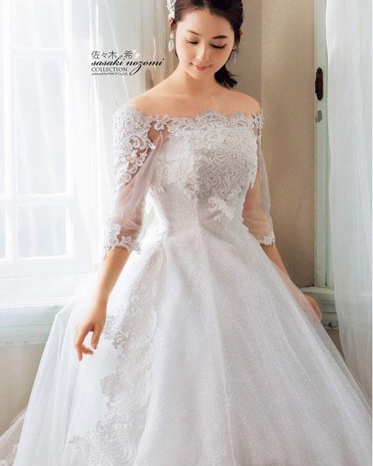. #weddingdress  #wedding  #dress  #bridal  #ウェディングドレス  #ウェディング #白ドレス #ドレス #花嫁 #プレ花嫁 #佐々木希 by y_dress_104