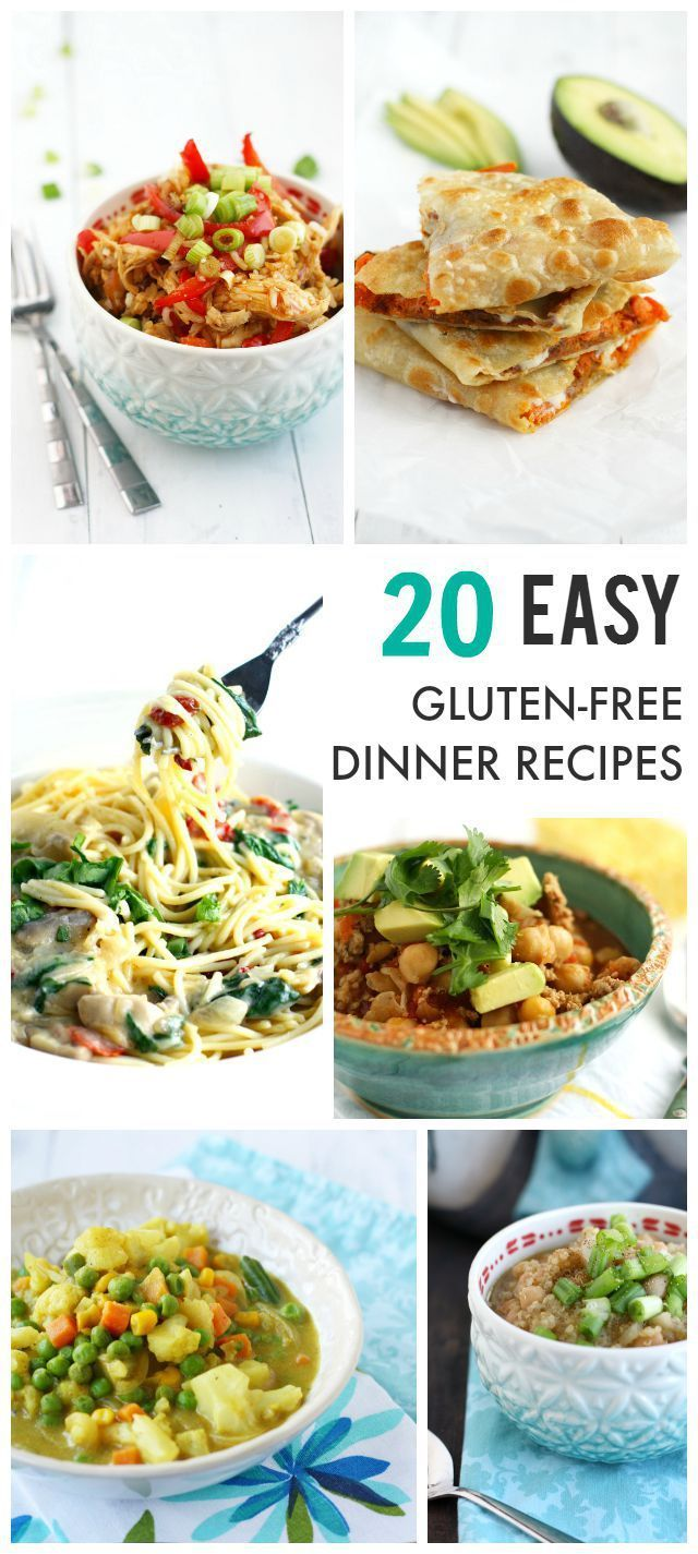 20 Easy Gluten Free Dairy Free Recipes Your Family Will Love. images