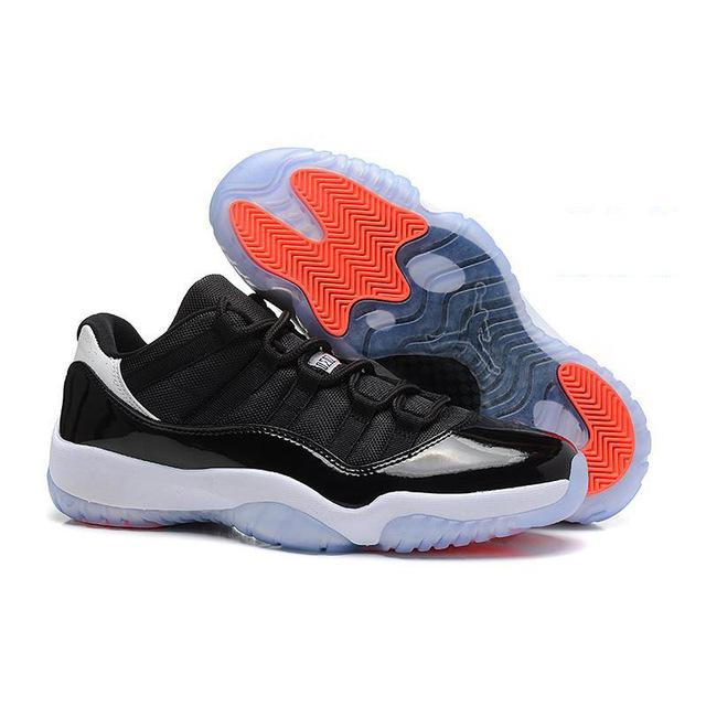 9c92a685c736 Jordan 11 XI Men Basketball Shoes UNC Chicago red Space Jam 45 Bred high  Bred win