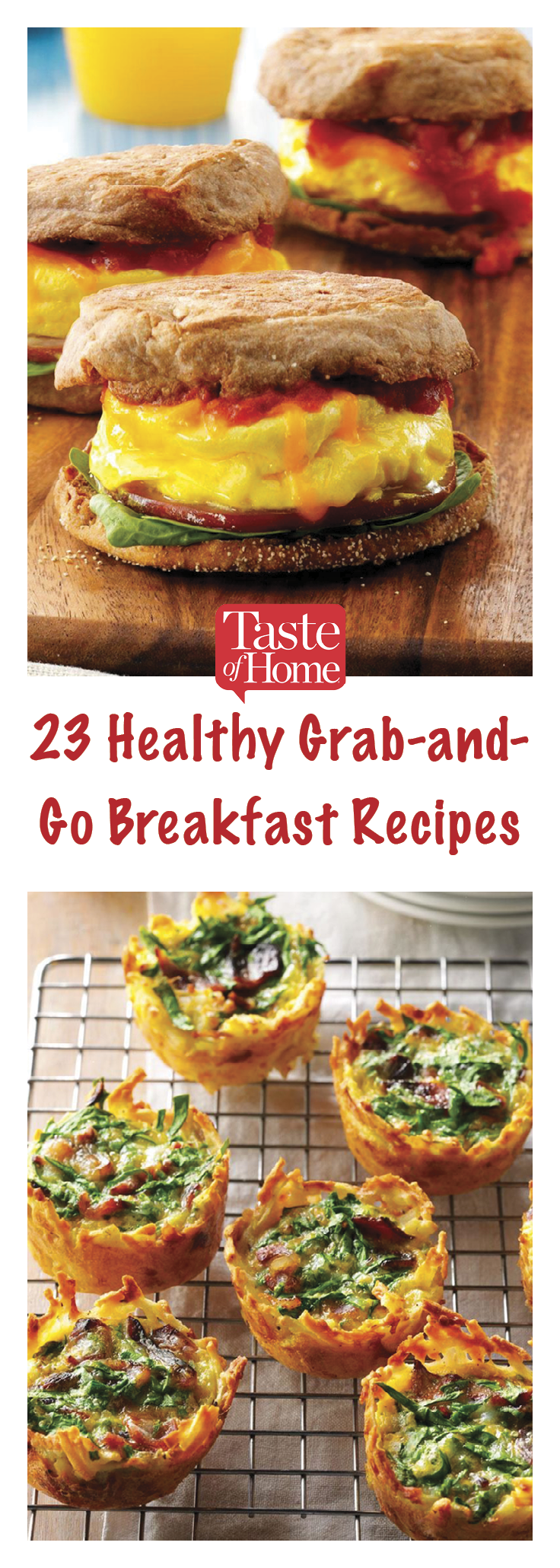 28 Healthy Grab-and-Go Breakfast Recipes images