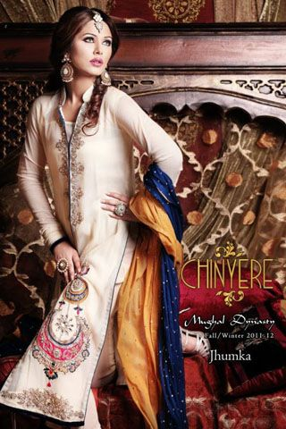 90a79d328c Exclusive Winter Collection 2012 by Chinyere | pin | Pakistani ...