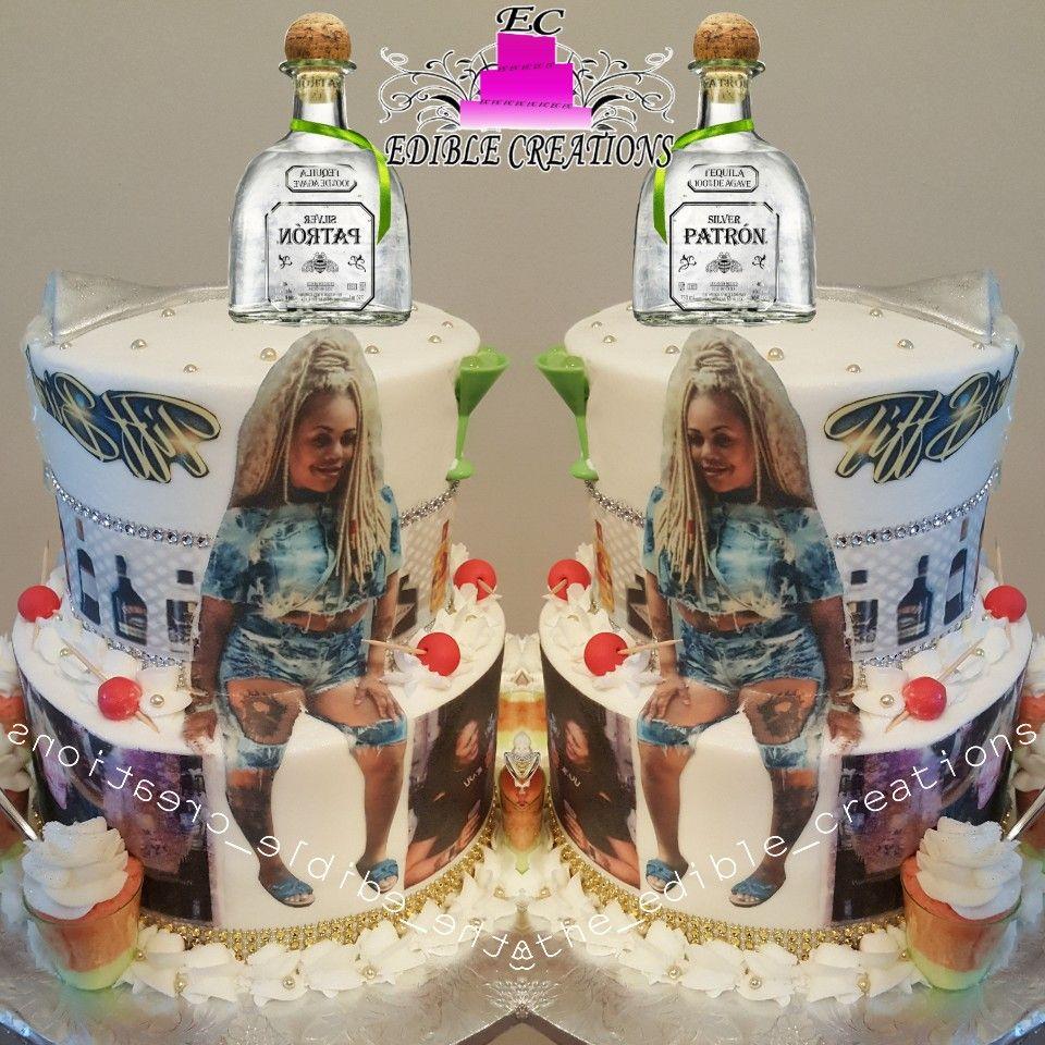 Bartender Birthday Girl Cake 2017 Cakes Pinterest Girl Cakes