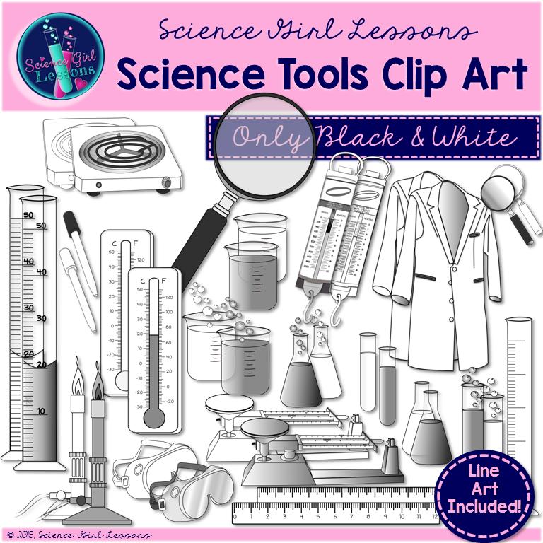 Science Tools Clip Art
