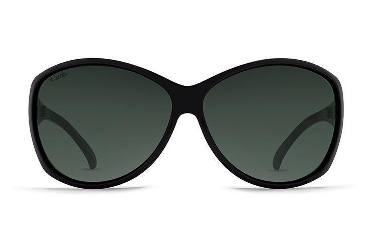 ccb31a51fa0 Vonzipper Vacay Polarized Black Gloss Wild Vintage Grey Sunglasses ...