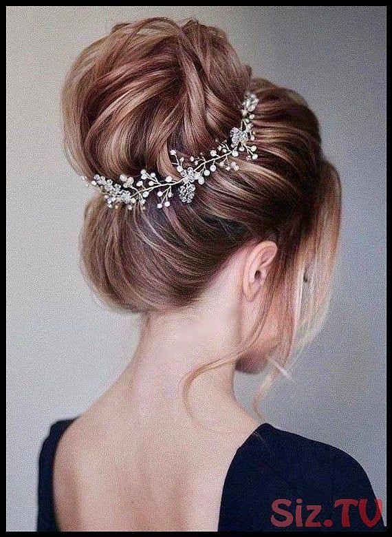 Crystal and Pearl hair vine Extra Long Hair Vine Bridal Hair Vine Wedding Hair Vine Crystal Hair Piece Bridal Jewelry Hair Vine Pearl Crystal and Pearl hair vine Extra Lo...