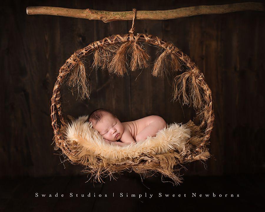 Photography · kansas city newborn photographer newborn hanging basket