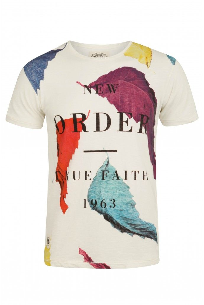 60be3bc176d Worn By New Order True Faith T-Shirt - T-Shirts   Tops - Clothing - Menswear