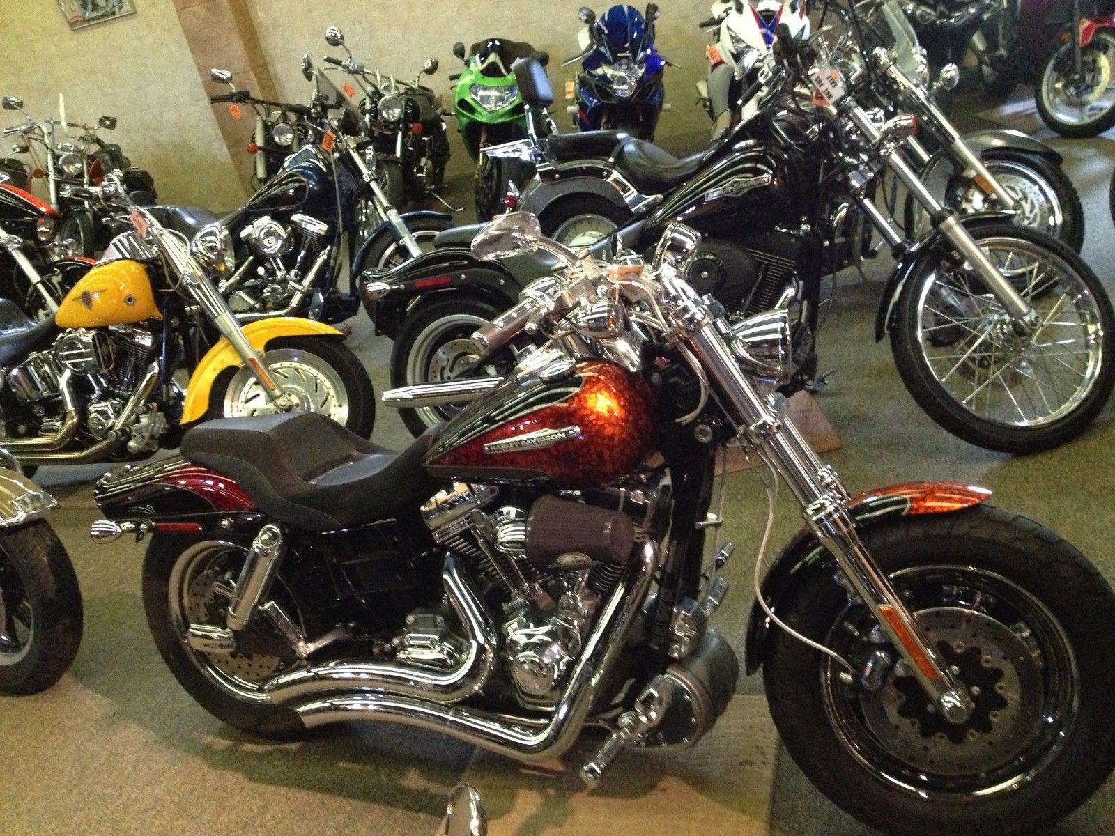 Harley-Davidson : Dyna 2009 HARLEY FXDFSE DYNA FAT BOB SE BLACK DIAMOND / FIRE QUARTZ 5599 MILES DW869
