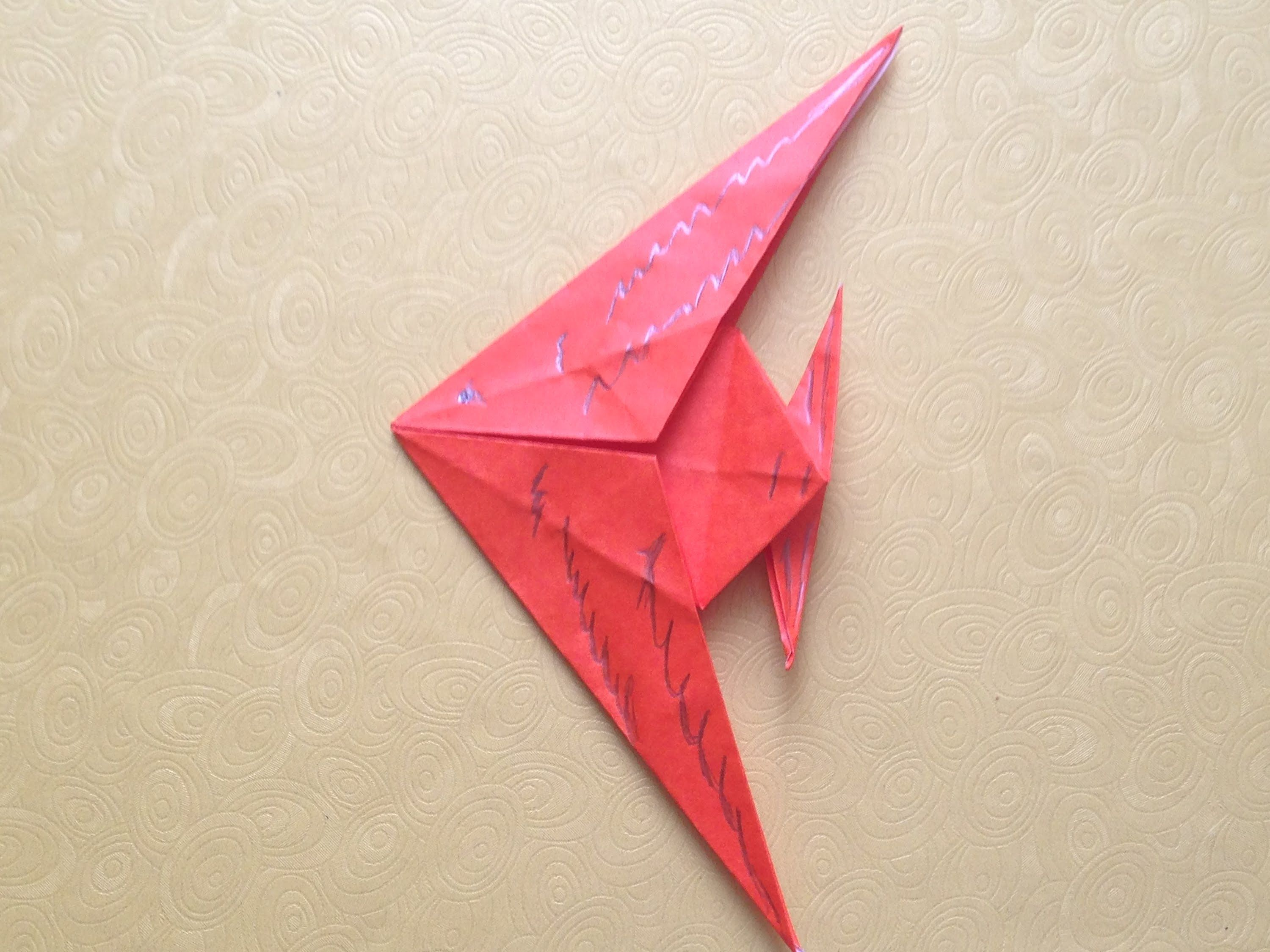 Origami fish easy for beginners origami for beginners origami fish easy for beginners jeuxipadfo Image collections