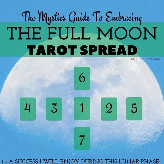 Tarot Spread - Root Chakra #fullmoontarotspread