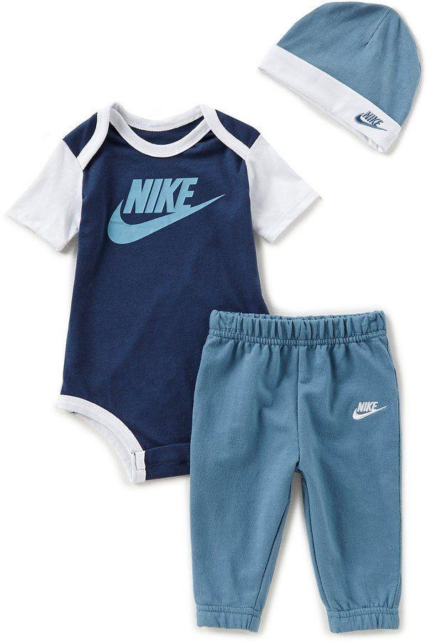d09ec730f Nike Baby Boys Newborn-12 Months Futura 3-Piece Pant Set | Baby ...