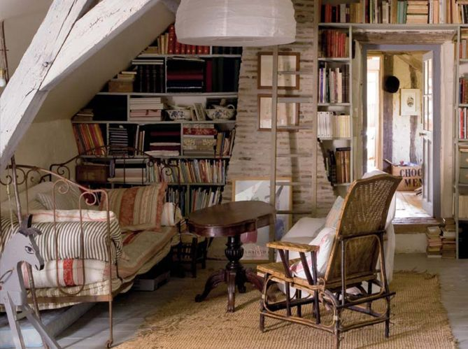 Wonderful Old Country House In France | Inspiring Interiors