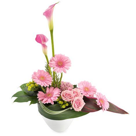 Rose Dragee Fleurs Fleurs Fete Des Meres Composition Florale