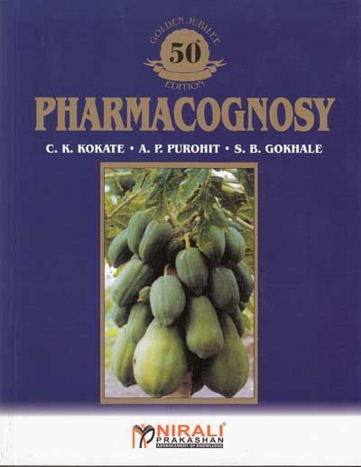 Pharmacognosy pdf book kokate ck