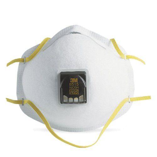 3M Respirador desechable contra Humos de Soldadura con válvula 8515 N95