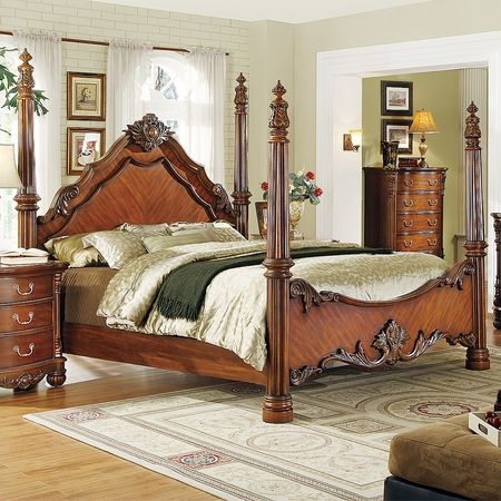 Best Traditional Four Poster Bedroom Sets On Traditional 640 x 480