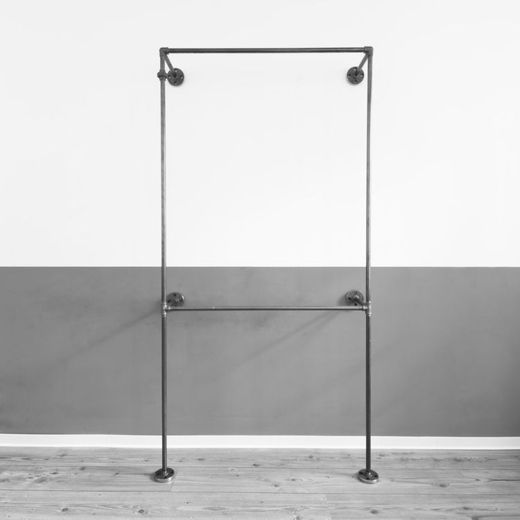 offener kleiderschrank open wardrobe offene garderobe open closet industrial design. Black Bedroom Furniture Sets. Home Design Ideas
