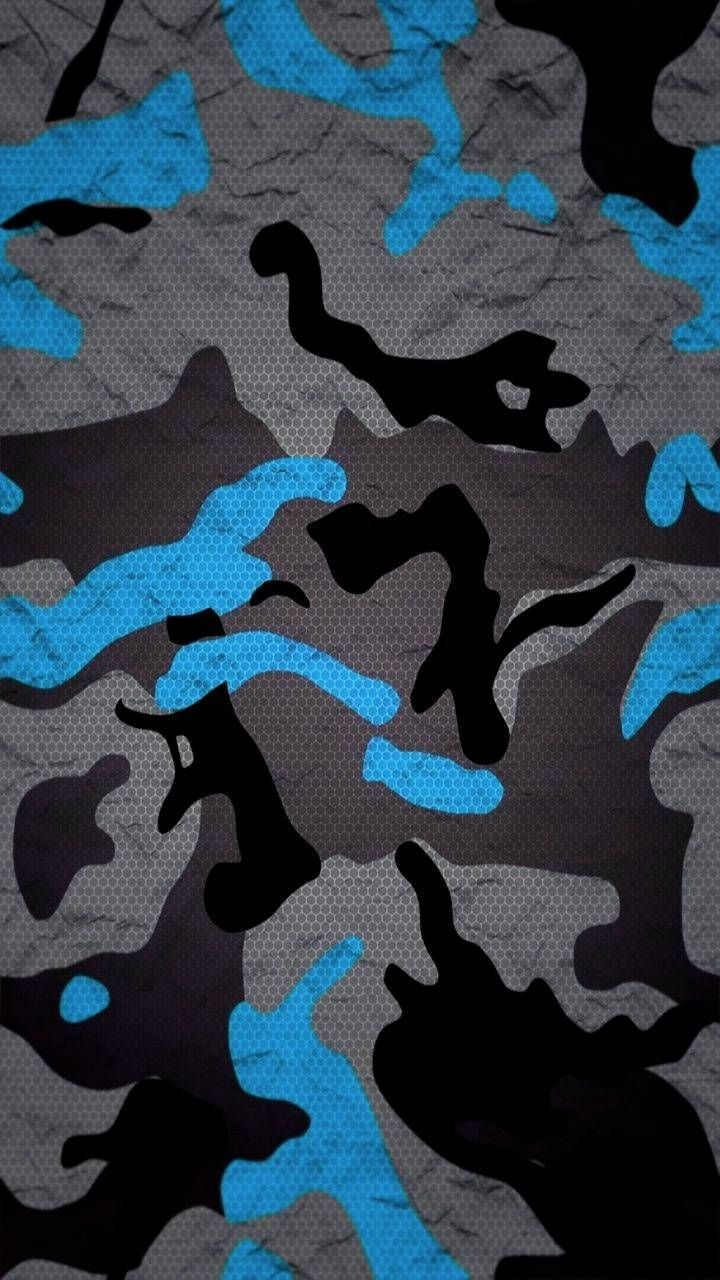 Blue Wallpaper By Georgekev 6f Free On Zedge Camoflauge Wallpaper Camo Wallpaper Camouflage Wallpaper