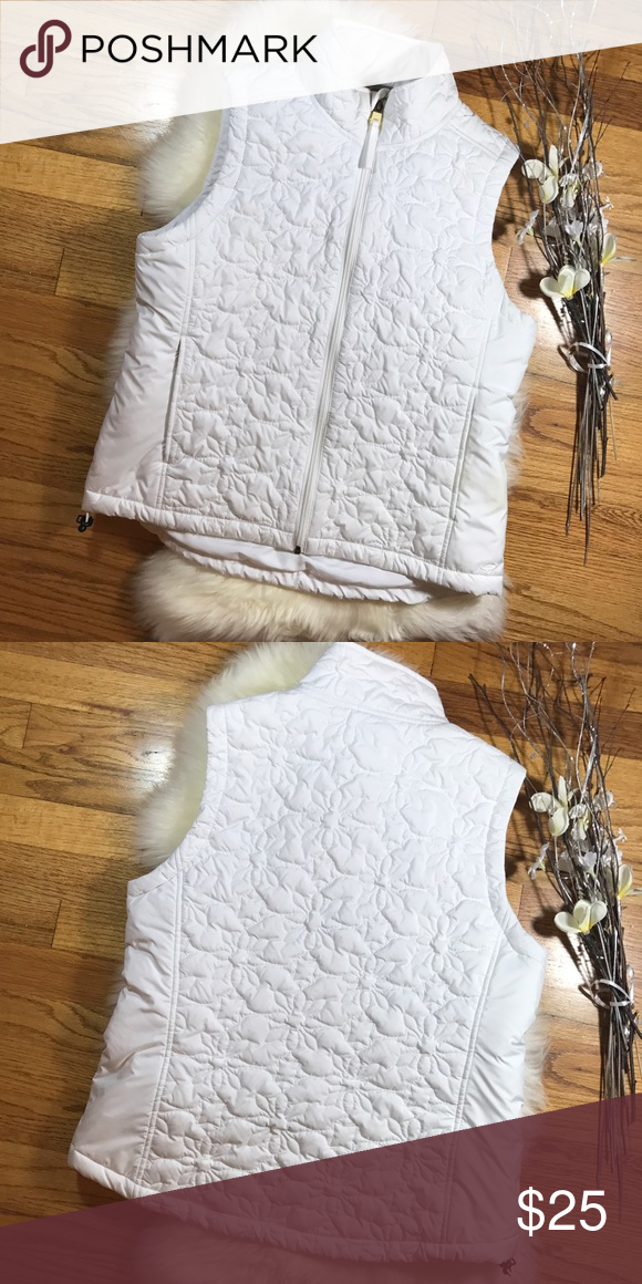 Champion Winter White Quilted Vest! Sz M Champion Winter White Quilted Vest! •EUC •Pretty white shade •Quilted & lightweight •Keeps you toasty in the fall winter & spring! •100% Polyester Champion Jackets & Coats Vests