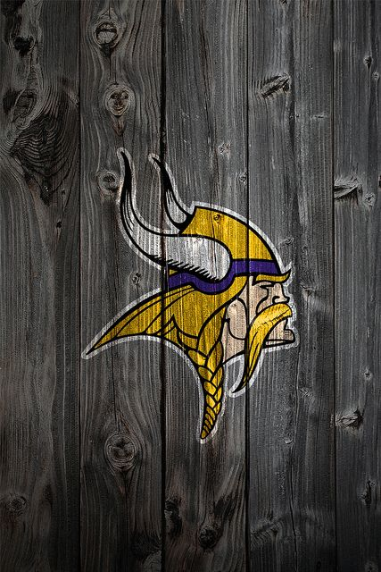 Minnesota Vikings Wood iPhone 4 Background Pittsburgh