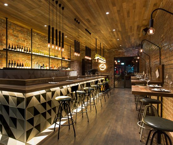 The milton bar restaurant by biasol design studio au dailytonic pinterest best - Bar cuisine studio ...