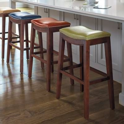 Exceptional Subtly Contoured, The Julien Bar Stool Has A Comfortable Upholstered Seat  Articulated With Brushed