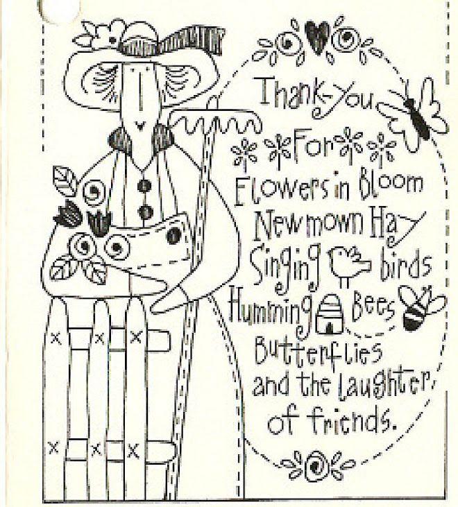 Thanks you ofor flowers bloom   Redwork   Pinterest   Bordado ...